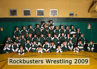0160 Rockbusters Wrestling Team 2009