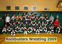0172 Rockbusters Wrestling Team 2009
