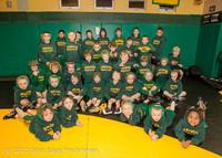 1555-b Rockbusters Wrestlers 2012