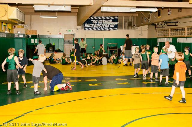 6440 Rockbusters wrestlers 2011
