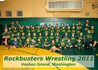 6563-a Rockbusters wrestlers 2011