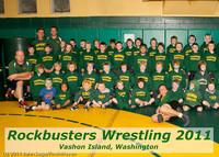 6563-l Rockbusters wrestlers 2011