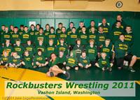 6563-r Rockbusters wrestlers 2011